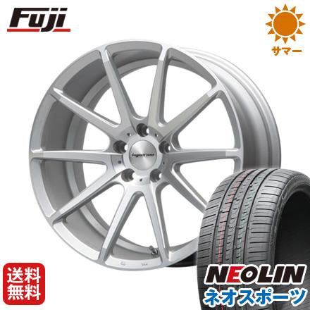 タイヤはフジ 送料無料 MLJ ハイペリオン CVX 8.5J 8.50-19 NEOLIN ネオリン ネオスポーツ(限定) 245/40R19 19インチ サマータイヤ ホイール4本セット