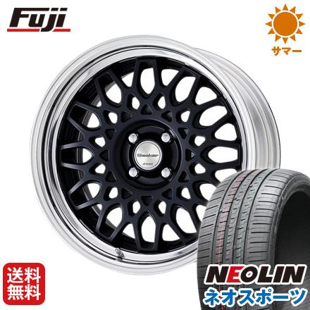 タイヤはフジ 送料無料 WORK ワーク シーカー CX 7J 7.00-17 NEOLIN ネオリン ネオスポーツ(限定) 215/45R17 17インチ サマータイヤ ホイール4本セット