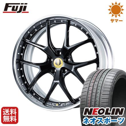 【クーポン対象外】 タイヤはフジ 送料無料 AIMGAIN エイムゲイン GTM 8.5J 8.50-20 NEOLIN ネオリン ネオスポーツ(限定) 245/30R20 20インチ サマータイヤ ホイール4本セット, 三瀦町 f3bf89f1