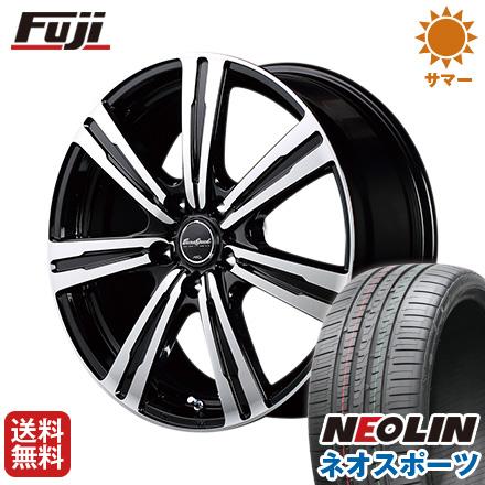 タイヤはフジ 18インチ 送料無料 MID ユーロスピード 7.50-18 BC-7 7.5J 7.50-18 7.5J NEOLIN ネオリン ネオスポーツ(限定) 225/40R18 18インチ サマータイヤ ホイール4本セット, BLStyle:5c3017b1 --- sunward.msk.ru