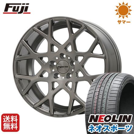 タイヤはフジ 送料無料 MLJ ハイペリオン CVZ 8.5J 8.50-19 NEOLIN ネオリン ネオスポーツ(限定) 245/45R19 19インチ サマータイヤ ホイール4本セット