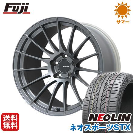 タイヤはフジ 送料無料 ENKEI エンケイ RS-05RR 8.5J 8.50-20 NEOLIN ネオリン ネオスポーツ STX(限定) 245/40R20 20インチ サマータイヤ ホイール4本セット