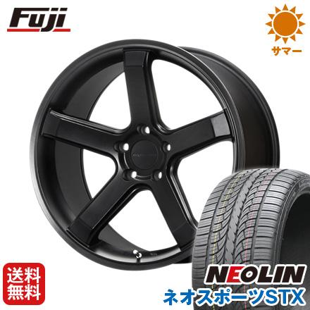 タイヤはフジ 送料無料 MLJ ハイペリオン CVS1.5 8.5J 8.50-20 NEOLIN ネオリン ネオスポーツ STX(限定) 245/40R20 20インチ サマータイヤ ホイール4本セット