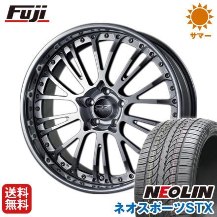 タイヤはフジ 送料無料 OZ ボッティチェッリ3 9J 9.00-22 NEOLIN ネオリン ネオスポーツ STX(限定) 265/35R22 22インチ サマータイヤ ホイール4本セット