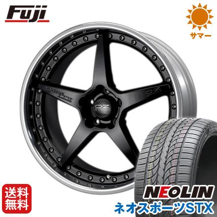 タイヤはフジ 送料無料 OZ クロノ3 8.5J 8.50-20 NEOLIN ネオリン ネオスポーツ STX(限定) 245/40R20 20インチ サマータイヤ ホイール4本セット