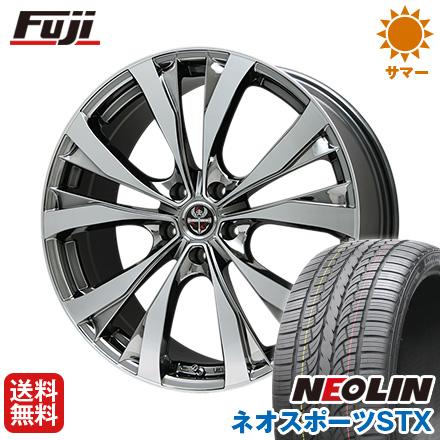 スマホエントリーで10倍 8/25 10時~9/1 10時迄 タイヤはフジ 送料無料 PREMIX プレミックス サッシカイア(BMCポリッシュ) 8.5J 8.50-22 NEOLIN ネオリン ネオスポーツ STX(限定) 265/35R22 22インチ サマータイヤ ホイール4本セット