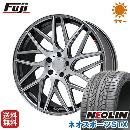 タイヤはフジ 送料無料 LEHRMEISTER レアマイスター キャンティ(BMCポリッシュ) 8.5J 8.50-22 NEOLIN ネオリン ネオスポーツ STX(限定) 265/35R22 22インチ サマータイヤ ホイール4本セット