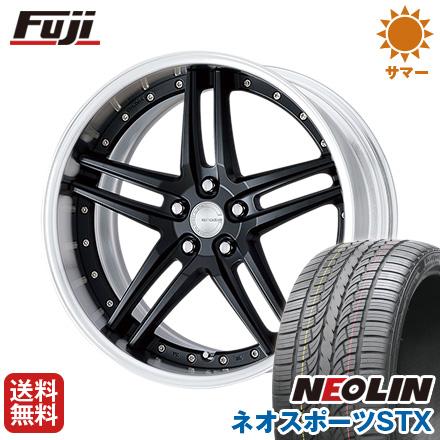 タイヤはフジ 送料無料 WORK ワーク グノーシスGR 205 8.5J 8.50-20 NEOLIN ネオリン ネオスポーツ STX(限定) 245/40R20 20インチ サマータイヤ ホイール4本セット
