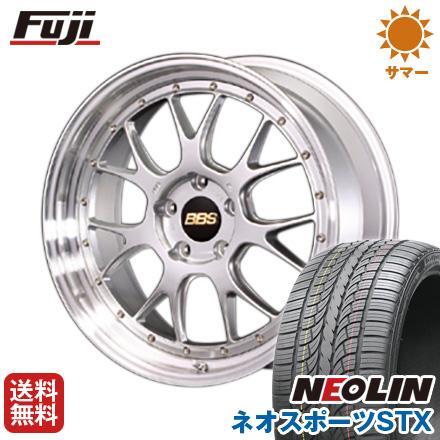 タイヤはフジ 送料無料 BBS JAPAN BBS LM-R 8.5J 8.50-20 NEOLIN ネオリン ネオスポーツ STX(限定) 245/40R20 20インチ サマータイヤ ホイール4本セット