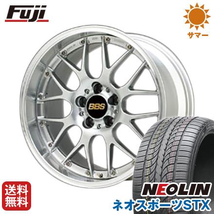 タイヤはフジ 送料無料 BBS JAPAN BBS RS-GT 8.5J 8.50-20 NEOLIN ネオリン ネオスポーツ STX(限定) 245/40R20 20インチ サマータイヤ ホイール4本セット