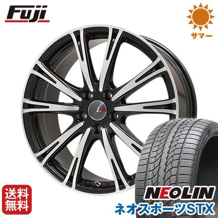 タイヤはフジ 送料無料 LEHRMEISTER レアマイスター ディチョット 8.5J 8.50-20 NEOLIN ネオリン ネオスポーツ STX(限定) 245/40R20 20インチ サマータイヤ ホイール4本セット