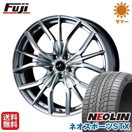 タイヤはフジ 送料無料 WEDS ウェッズ レオニス LV限定 8.5J 8.50-20 NEOLIN ネオリン ネオスポーツ STX(限定) 245/40R20 20インチ サマータイヤ ホイール4本セット