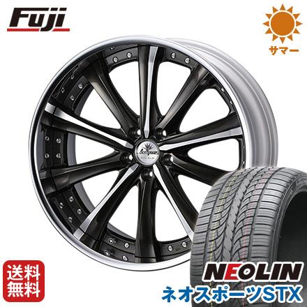 タイヤはフジ 送料無料 WEDS ウェッズ クレンツェ マリシーブ 8.5J 8.50-20 NEOLIN ネオリン ネオスポーツ STX(限定) 245/40R20 20インチ サマータイヤ ホイール4本セット