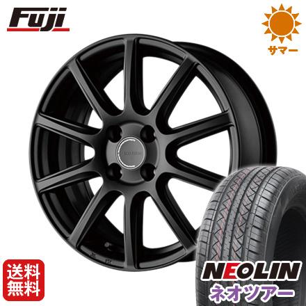 タイヤはフジ 送料無料 BRIDGESTONE ブリヂストン エコフォルム CRS/131 6.5J 6.50-16 NEOLIN ネオリン ネオツアー(限定) 215/65R16 16インチ サマータイヤ ホイール4本セット