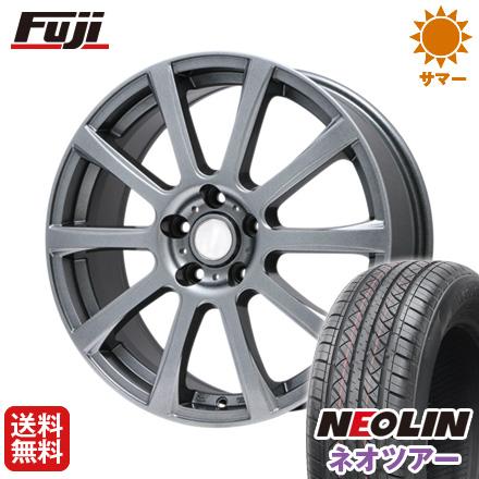 タイヤはフジ 送料無料 BRANDLE ブランドル 565T 7J 7.00-17 NEOLIN ネオリン ネオツアー(限定) 215/50R17 17インチ サマータイヤ ホイール4本セット
