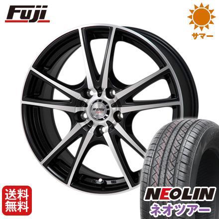 タイヤはフジ 送料無料 MONZA モンツァ JPスタイルヴォーゲル 6.5J 6.50-16 NEOLIN ネオリン ネオツアー(限定) 215/65R16 16インチ サマータイヤ ホイール4本セット