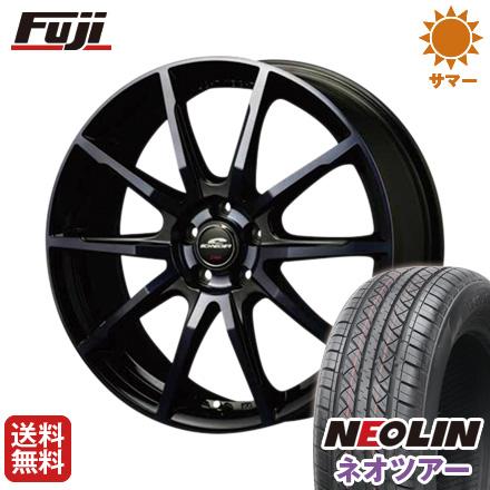 タイヤはフジ 送料無料 MID シュナイダー DR-01 7J 7.00-17 NEOLIN ネオリン ネオツアー(限定) 215/50R17 17インチ サマータイヤ ホイール4本セット