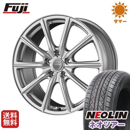 タイヤはフジ 送料無料 BRIDGESTONE ブリヂストン エコフォルム SE-15 6.5J 6.50-16 NEOLIN ネオリン ネオツアー(限定) 215/65R16 16インチ サマータイヤ ホイール4本セット