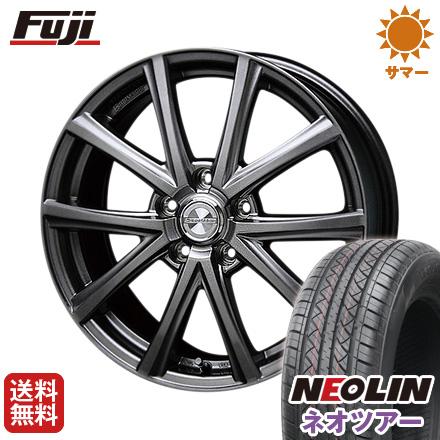 タイヤはフジ 送料無料 BLEST ブレスト ユーロマジック アスパイアFX限定 6.5J 6.50-16 NEOLIN ネオリン ネオツアー(限定) 215/65R16 16インチ サマータイヤ ホイール4本セット