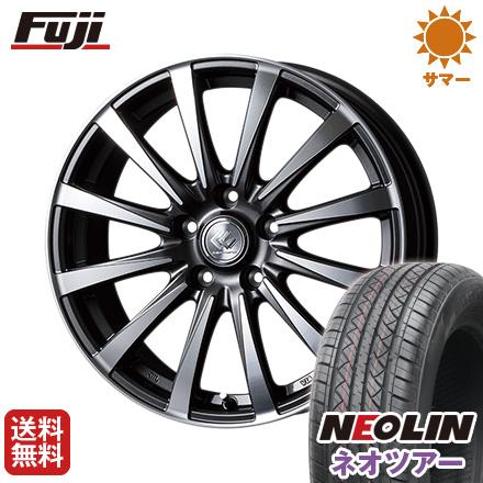 タイヤはフジ 送料無料 TOPY トピー セレブロ JB12 6.5J 6.50-16 NEOLIN ネオリン ネオツアー(限定) 215/65R16 16インチ サマータイヤ ホイール4本セット