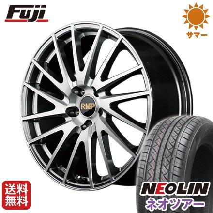 タイヤはフジ 送料無料 MID RMP 016F 7J 7.00-17 NEOLIN ネオリン ネオツアー(限定) 215/50R17 17インチ サマータイヤ ホイール4本セット