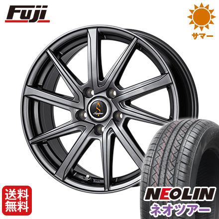 タイヤはフジ 送料無料 WORK ワーク セプティモ G01 ダークグレー 7J 7.00-17 NEOLIN ネオリン ネオツアー(限定) 215/50R17 17インチ サマータイヤ ホイール4本セット