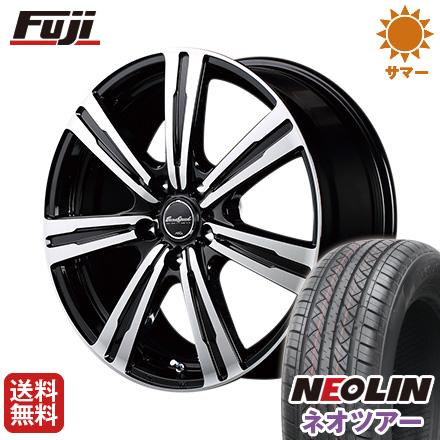 タイヤはフジ 送料無料 MID ユーロスピード BC-7 7J 7.00-17 NEOLIN ネオリン ネオツアー(限定) 215/50R17 17インチ サマータイヤ ホイール4本セット