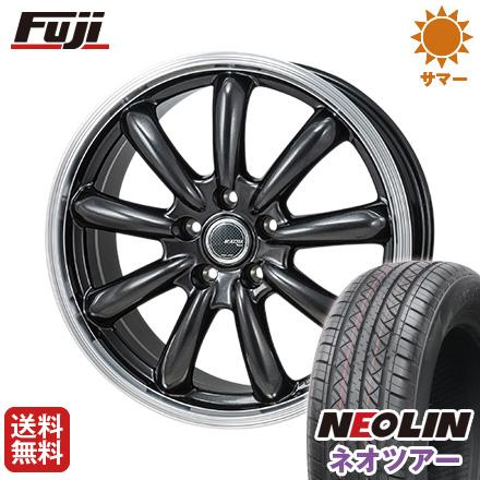 タイヤはフジ 送料無料 MONZA モンツァ JPスタイル バーニー 7J 7.00-17 NEOLIN ネオリン ネオツアー(限定) 215/50R17 17インチ サマータイヤ ホイール4本セット
