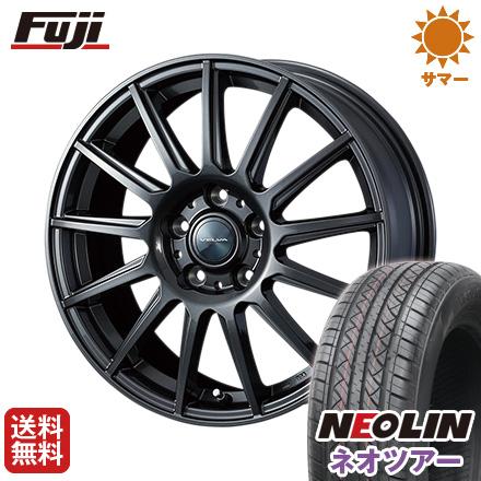 タイヤはフジ 送料無料 WEDS ウェッズ ヴェルバ イゴール 6.5J 6.50-16 NEOLIN ネオリン ネオツアー(限定) 215/65R16 16インチ サマータイヤ ホイール4本セット