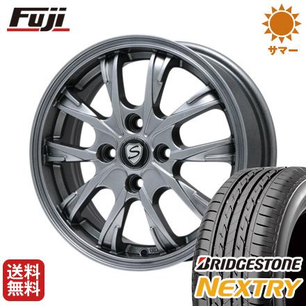 タイヤはフジ 送料無料 BRANDLE ブランドル 486 4J 4.00-13 BRIDGESTONE ブリヂストン NEXTRY ネクストリー(限定) 155/65R13 13インチ サマータイヤ ホイール4本セット