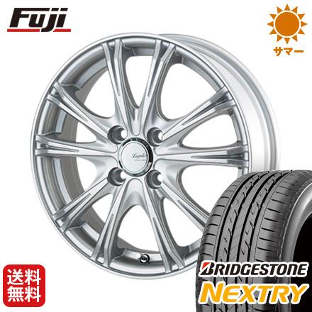 タイヤはフジ 送料無料 5ZIGEN ゴジゲン リーガレスα EX 4J 4.00-13 BRIDGESTONE ブリヂストン NEXTRY ネクストリー(限定) 155/65R13 13インチ サマータイヤ ホイール4本セット