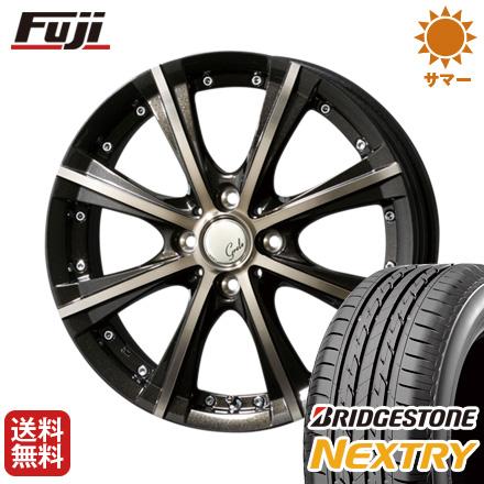 タイヤはフジ 送料無料 TOPY トピー グレール キョクシ 4.5J 4.50-14 BRIDGESTONE ブリヂストン NEXTRY ネクストリー(限定) 155/65R14 14インチ サマータイヤ ホイール4本セット
