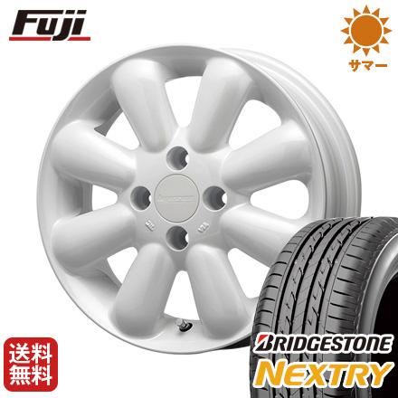 タイヤはフジ 送料無料 MLJ ハイペリオン ピノプラス 4.5J 4.50-15 BRIDGESTONE ブリヂストン NEXTRY ネクストリー(限定) 165/55R15 15インチ サマータイヤ ホイール4本セット