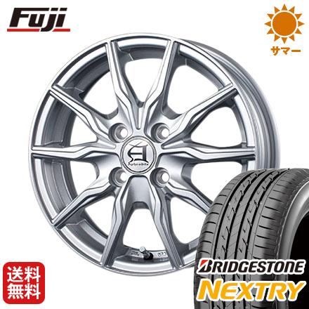 タイヤはフジ 送料無料 TECHNOPIA テクノピア アフロディーテ KR 4J 4.00-13 BRIDGESTONE ブリヂストン NEXTRY ネクストリー(限定) 155/65R13 13インチ サマータイヤ ホイール4本セット