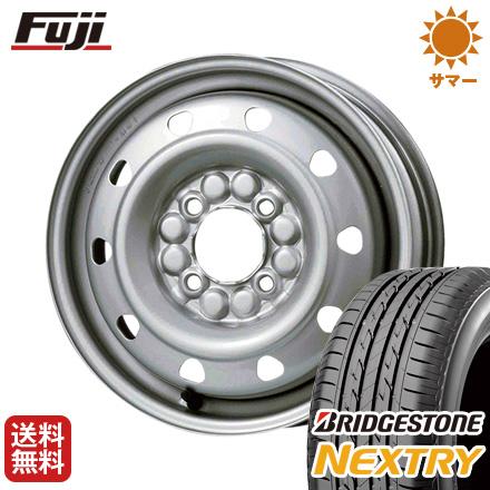 タイヤはフジ 送料無料 ELBE エルベ オリジナル スチール M52 4J 4.00-13 BRIDGESTONE ブリヂストン NEXTRY ネクストリー(限定) 155/65R13 13インチ サマータイヤ ホイール4本セット