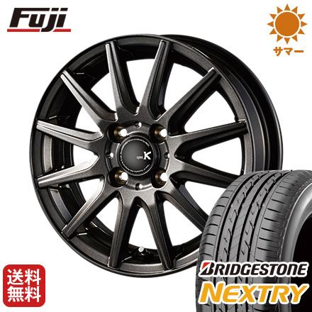 タイヤはフジ 送料無料 INTER MILANO インターミラノ スペックK 4J 4.00-13 BRIDGESTONE ブリヂストン NEXTRY ネクストリー(限定) 155/65R13 13インチ サマータイヤ ホイール4本セット