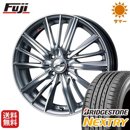 タイヤはフジ 送料無料 WEDS 4.5J ウェッズ レオニス FY 4.5J 4.50-15 タイヤはフジ BRIDGESTONE WEDS ブリヂストン NEXTRY ネクストリー(限定) 165/55R15 15インチ サマータイヤ ホイール4本セット, 肌かくしーと:94edfa6c --- sunward.msk.ru