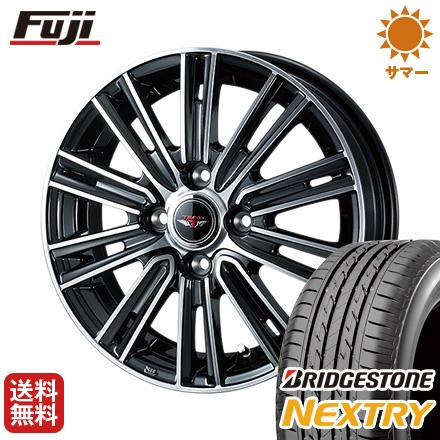 タイヤはフジ 送料無料 WEDS ウェッズ テッドスナップ 4J 4.00-13 BRIDGESTONE ブリヂストン NEXTRY ネクストリー(限定) 145/80R13 13インチ サマータイヤ ホイール4本セット