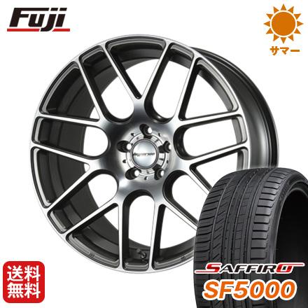 タイヤはフジ 送料無料 MLJ ハイペリオン CVM F:8.50-20 R:9.50-20 SAFFIRO サフィーロ SF5000(限定) F:245/30R20 R:275/30R20 サマータイヤ ホイール4本セット