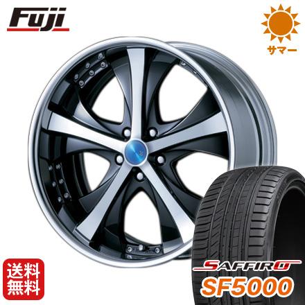 タイヤはフジ 送料無料 MZ SPEED エムズスピード JJブレイクスルー 8J 8.00-19 SAFFIRO サフィーロ SF5000(限定) 245/35R19 19インチ サマータイヤ ホイール4本セット