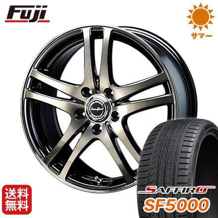 タイヤはフジ 送料無料 BLEST ブレスト ユーロスポーツ タイプ502限定 6.5J 6.50-16 SAFFIRO サフィーロ SF5000(限定) 215/65R16 16インチ サマータイヤ ホイール4本セット