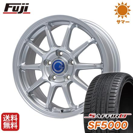 タイヤはフジ 送料無料 BRANDLE ブランドル M60 7.5J 7.50-18 SAFFIRO サフィーロ SF5000(限定) 225/55R18 18インチ サマータイヤ ホイール4本セット