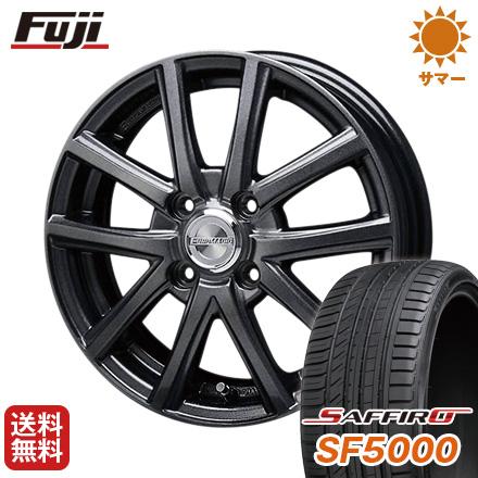 タイヤはフジ 送料無料 BLEST ブレスト ユーロマジック アスパイアFX限定 5.5J 5.50-15 SAFFIRO サフィーロ SF5000(限定) 185/65R15 15インチ サマータイヤ ホイール4本セット
