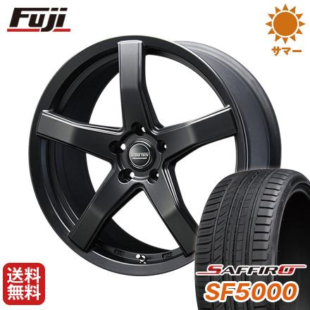 タイヤはフジ 送料無料 BLEST ブレスト バーンズテック V-05 7.5J 7.50-19 SAFFIRO サフィーロ SF5000(限定) 225/35R19 19インチ サマータイヤ ホイール4本セット