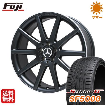 タイヤはフジ 送料無料 ベンツGLA(X156) AMG 10スポーク 8J 8.00-20 SAFFIRO サフィーロ SF5000(限定) 245/35R20 20インチ サマータイヤ ホイール4本セット 輸入車