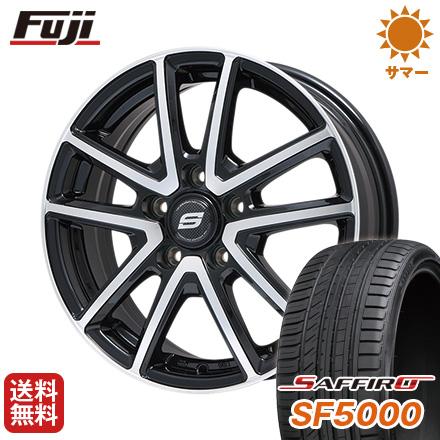 タイヤはフジ 送料無料 7.5J BRANDLE 送料無料 ブランドル M61BP 7.5J タイヤはフジ 7.50-18 SAFFIRO サフィーロ SF5000(限定) 235/45R18 18インチ サマータイヤ ホイール4本セット, Lucy shop:d71a026a --- sunward.msk.ru