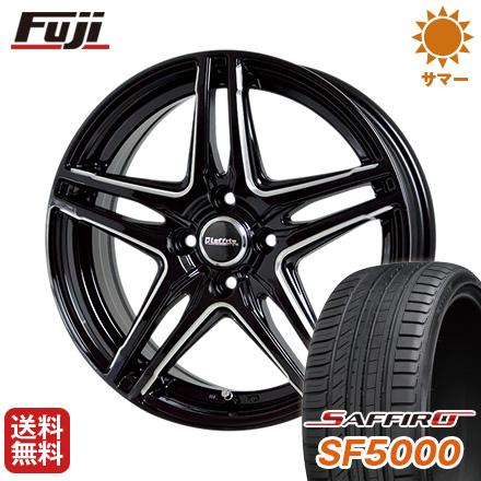 タイヤはフジ 送料無料 HOT STUFF ホットスタッフ ラフィット LW-04 5.5J 5.50-15 SAFFIRO サフィーロ SF5000(限定) 185/65R15 15インチ サマータイヤ ホイール4本セット