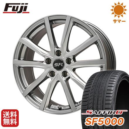 タイヤはフジ 送料無料 BRANDLE ブランドル N52 7.5J 7.50-18 SAFFIRO サフィーロ SF5000(限定) 225/45R18 18インチ サマータイヤ ホイール4本セット
