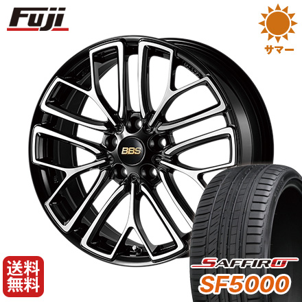 タイヤはフジ 送料無料 BBS JAPAN BBS RE-X 9J 9.00-21 SAFFIRO サフィーロ SF5000(限定) 255/30R21 21インチ サマータイヤ ホイール4本セット