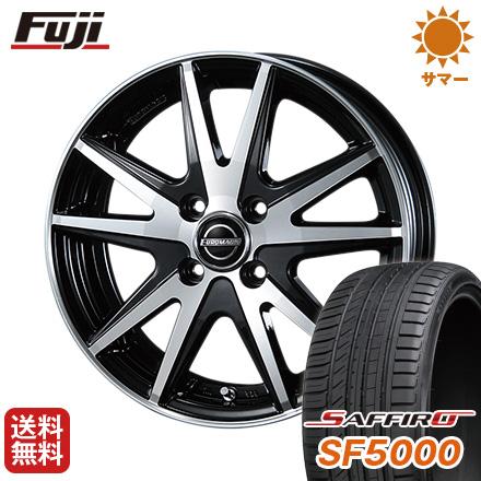 タイヤはフジ 送料無料 BLEST ブレスト ユーロマジック ランスSTP 5.5J 5.50-15 SAFFIRO サフィーロ SF5000(限定) 185/55R15 15インチ サマータイヤ ホイール4本セット